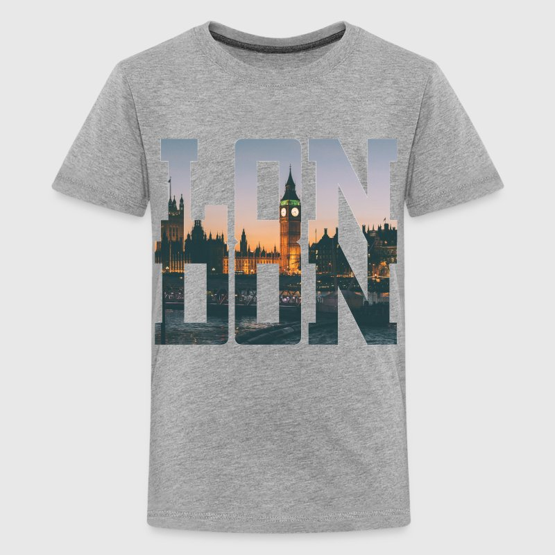 London City Typography Kids' Shirts - Kids' Premium T-Shirt