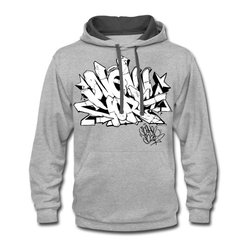 BEHR- Design for New York Graffiti Color Logo - Contrast Hoodie