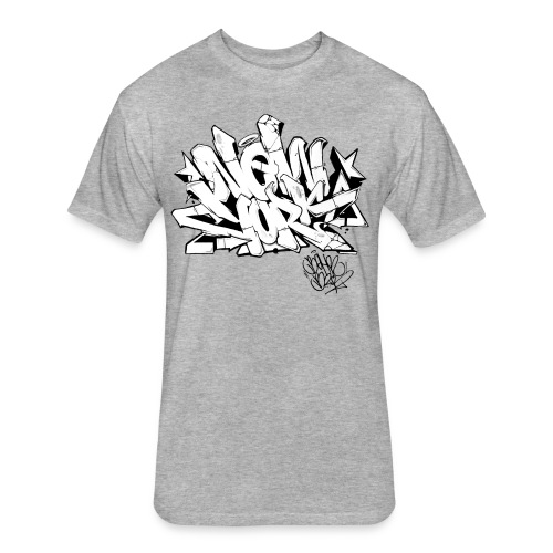 BEHR- Design for New York Graffiti Color Logo - Fitted Cotton/Poly T-Shirt by Next Level