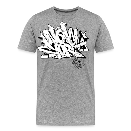 BEHR- Design for New York Graffiti Color Logo - Men's Premium T-Shirt