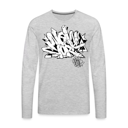 BEHR- Design for New York Graffiti Color Logo - Men's Premium Long Sleeve T-Shirt