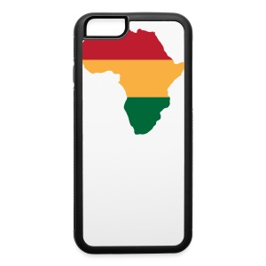 Africa - Red, Gold, Green - iPhone 6/6s Rubber Case