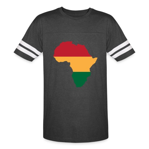 Africa - Red, Gold, Green - Vintage Sport T-Shirt