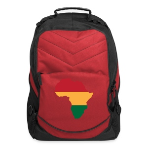 Africa - Red, Gold, Green - Computer Backpack