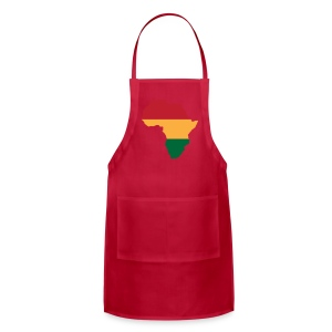 Africa - Red, Gold, Green - Adjustable Apron