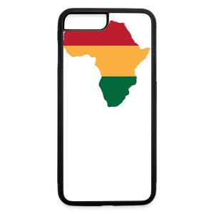 Africa - Red, Gold, Green - iPhone 7 Plus/8 Plus Rubber Case