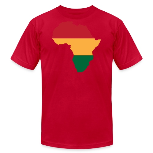 Africa - Red, Gold, Green - Men's  Jersey T-Shirt