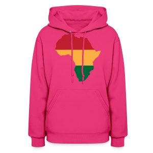 Africa - Red, Gold, Green - Women's Hoodie