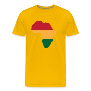 Africa - Red, Gold, Green - Men's Premium T-Shirt