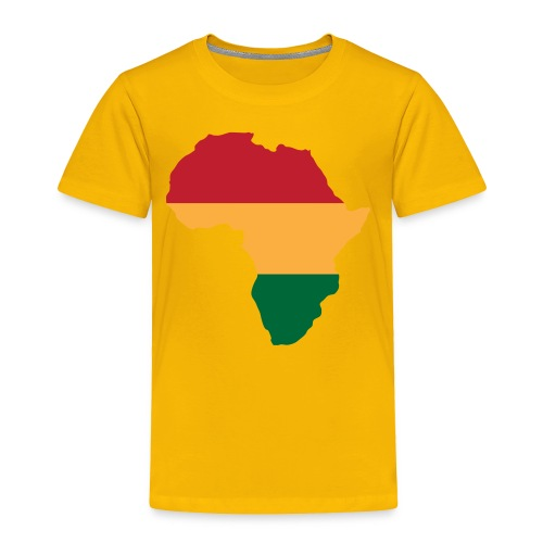 Africa - Red, Gold, Green - Toddler Premium T-Shirt