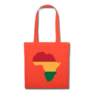 Africa - Red, Gold, Green - Tote Bag