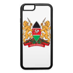 The Kenya Coat of Arms - iPhone 6/6s Rubber Case