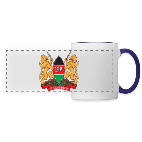 The Kenya Coat of Arms - Panoramic Mug