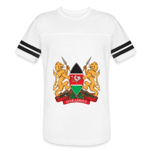 The Kenya Coat of Arms - Vintage Sport T-Shirt