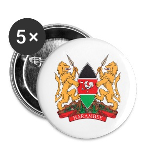 The Kenya Coat of Arms - Small Buttons