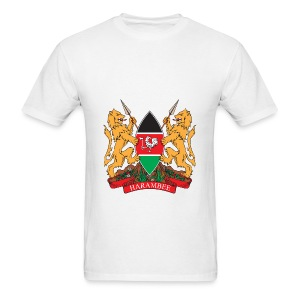 The Kenya Coat of Arms - Men's T-Shirt