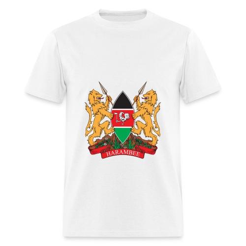 The Kenya Coat of Arms - Men's T-Shirt