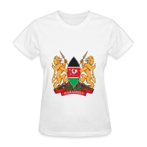 The Kenya Coat of Arms - Women's T-Shirt