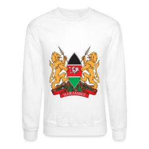 The Kenya Coat of Arms - Crewneck Sweatshirt