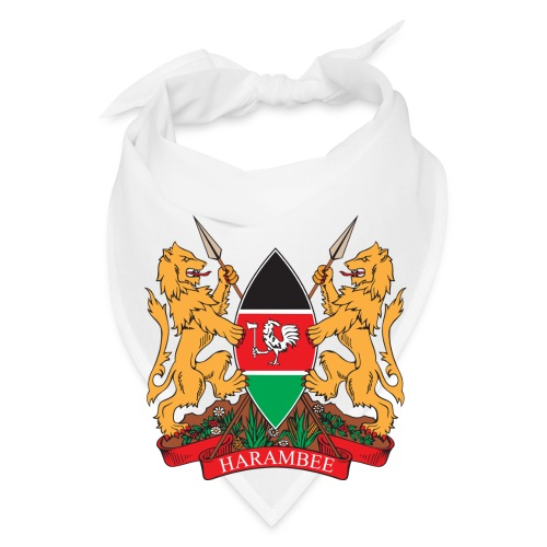 The Kenya Coat of Arms - Bandana