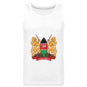 The Kenya Coat of Arms - Men's Premium Tank