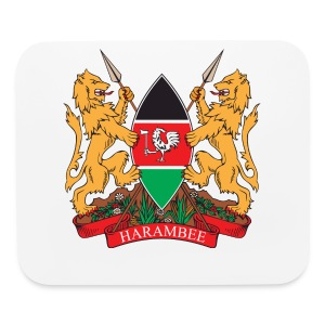 The Kenya Coat of Arms - Mouse pad Horizontal