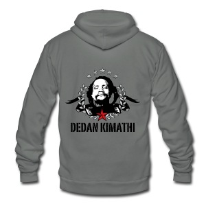 Dedan Kimathi - Unisex Fleece Zip Hoodie by American Apparel