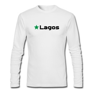 Lagos - Men's Long Sleeve T-Shirt by Next Level
