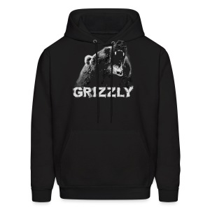 Grizzly Bear T-shirt - Men's Hoodie