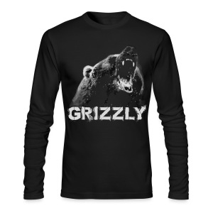 Grizzly Bear T-shirt - Men's Long Sleeve T-Shirt by Next Level