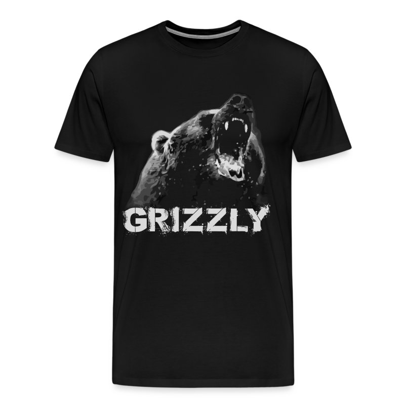 Grizzly Bear T-shirt - Men's Premium T-Shirt