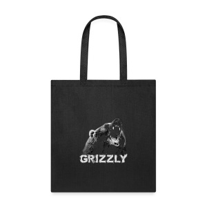 Grizzly Bear T-shirt - Tote Bag