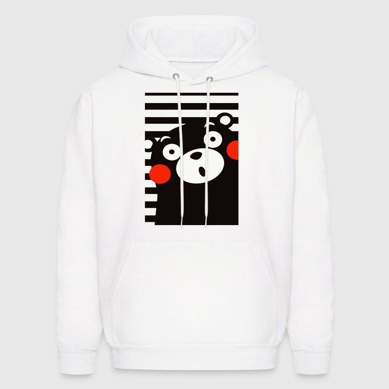 Japan Anime Kumamon Bear  - Men's Hoodie