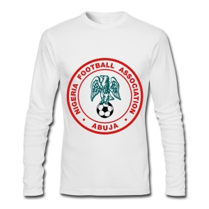 Nigeria Football Federation (Super Eagles) - Men's Long Sleeve T-Shirt by Next Level