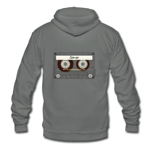 Genge Mixtape - Unisex Fleece Zip Hoodie by American Apparel