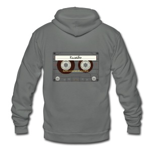 Kwaito Mixtape - Unisex Fleece Zip Hoodie by American Apparel