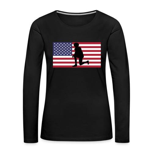 Kaeperflag - Women's Premium Long Sleeve T-Shirt
