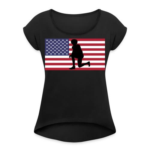 Kaeperflag - Women's Roll Cuff T-Shirt