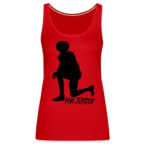Kneel for Justice - Women's Premium Tank Top