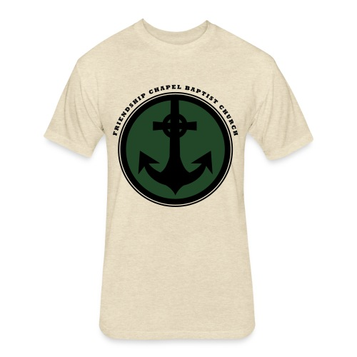 Anchor - Fitted Cotton/Poly T-Shirt by Next Level