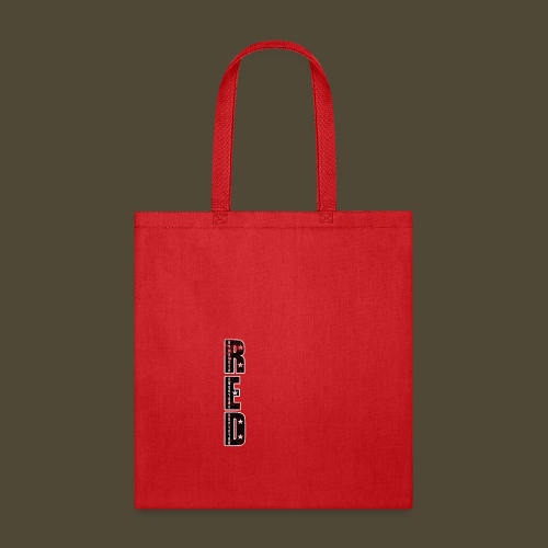 R.E.D. 3 Front And Back - Tote Bag