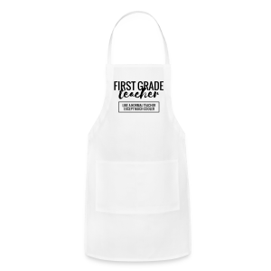 Cool First Grade Teacher - Adjustable Apron