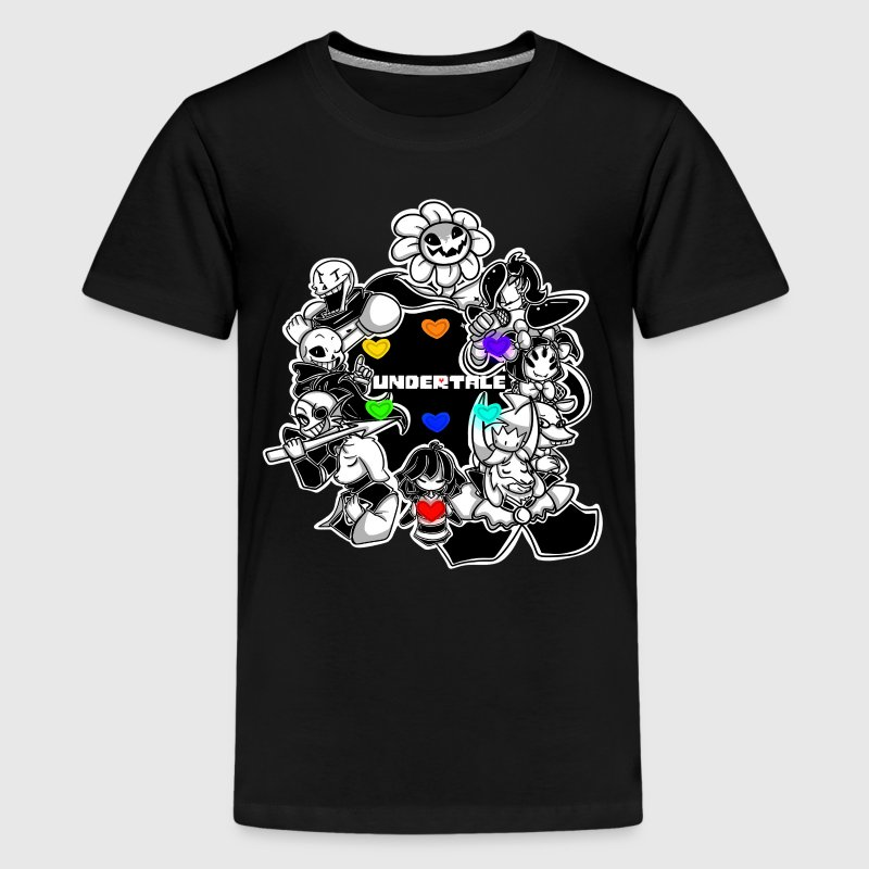 Undertale team - Kids' Premium T-Shirt