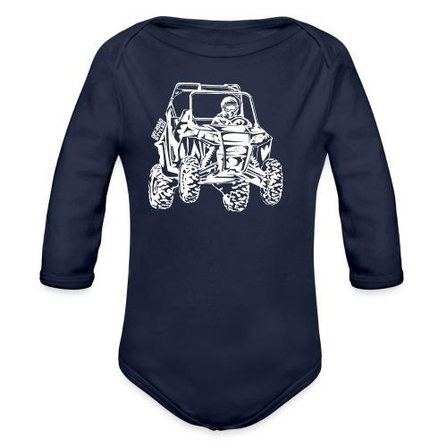 UTV Racer - Organic Long Sleeve Baby Bodysuit