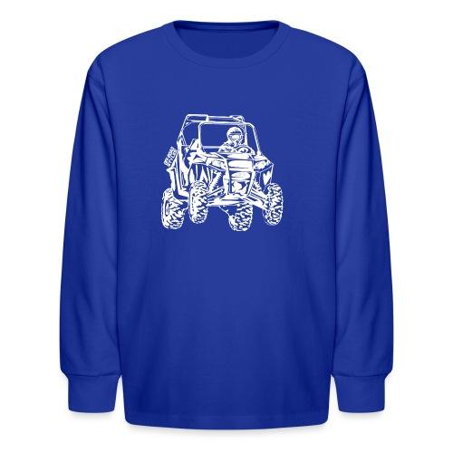 UTV Racer - Kids' Long Sleeve T-Shirt