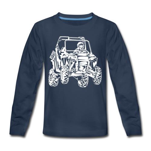 UTV Racer - Kids' Premium Long Sleeve T-Shirt