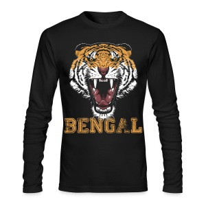 Bengal Tiger T-shirt - Men's Long Sleeve T-Shirt by Next Level