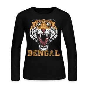 Bengal Tiger T-shirt - Women's Long Sleeve Jersey T-Shirt