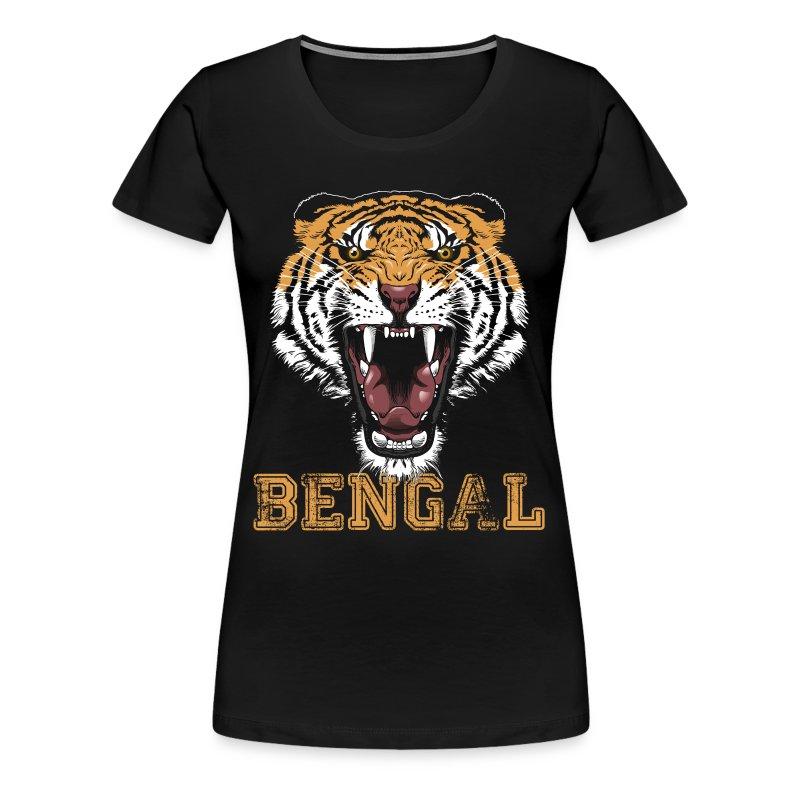Bengal Tiger T-shirt - Women's Premium T-Shirt