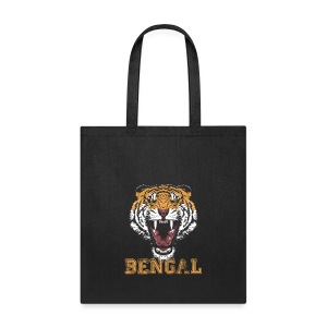 Bengal Tiger T-shirt - Tote Bag